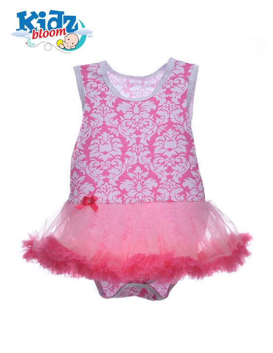 Rose sleeveless baby girl tutu dress