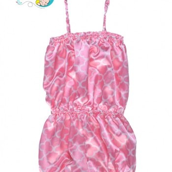 Baby Girl Pink one piece romper