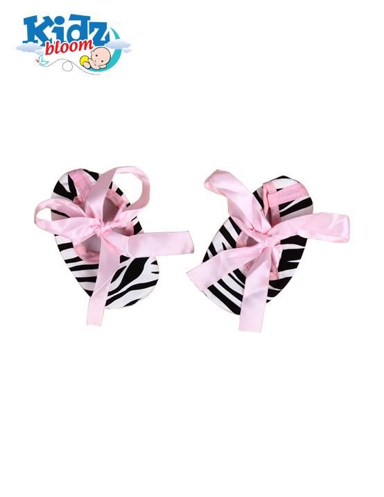 3pcs Baby Girl Zebra striped Party Tutu dress