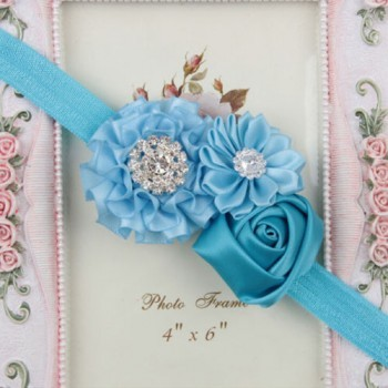 Rhinestone Blue Headband